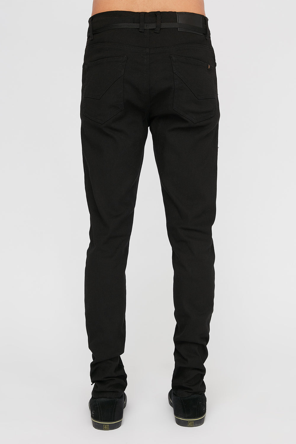 Zoo York Mens Stretch Skinny Jeans Black