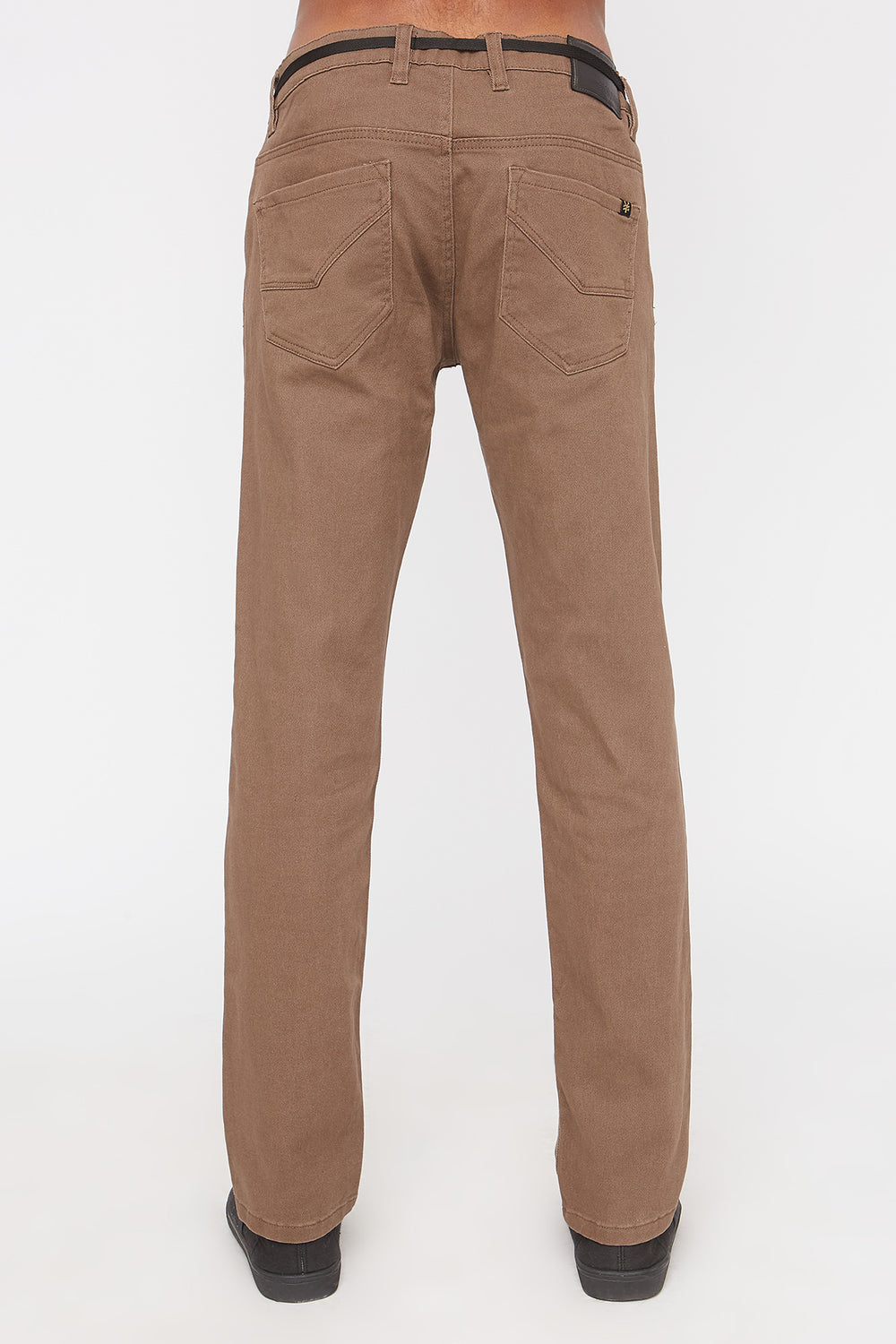 Zoo York Mens Stretch Skinny Jeans Brown