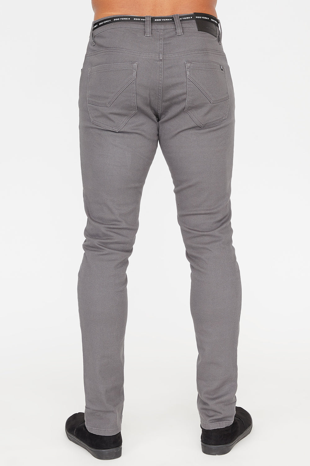 Zoo York Mens Skinny Jeans Heather Grey