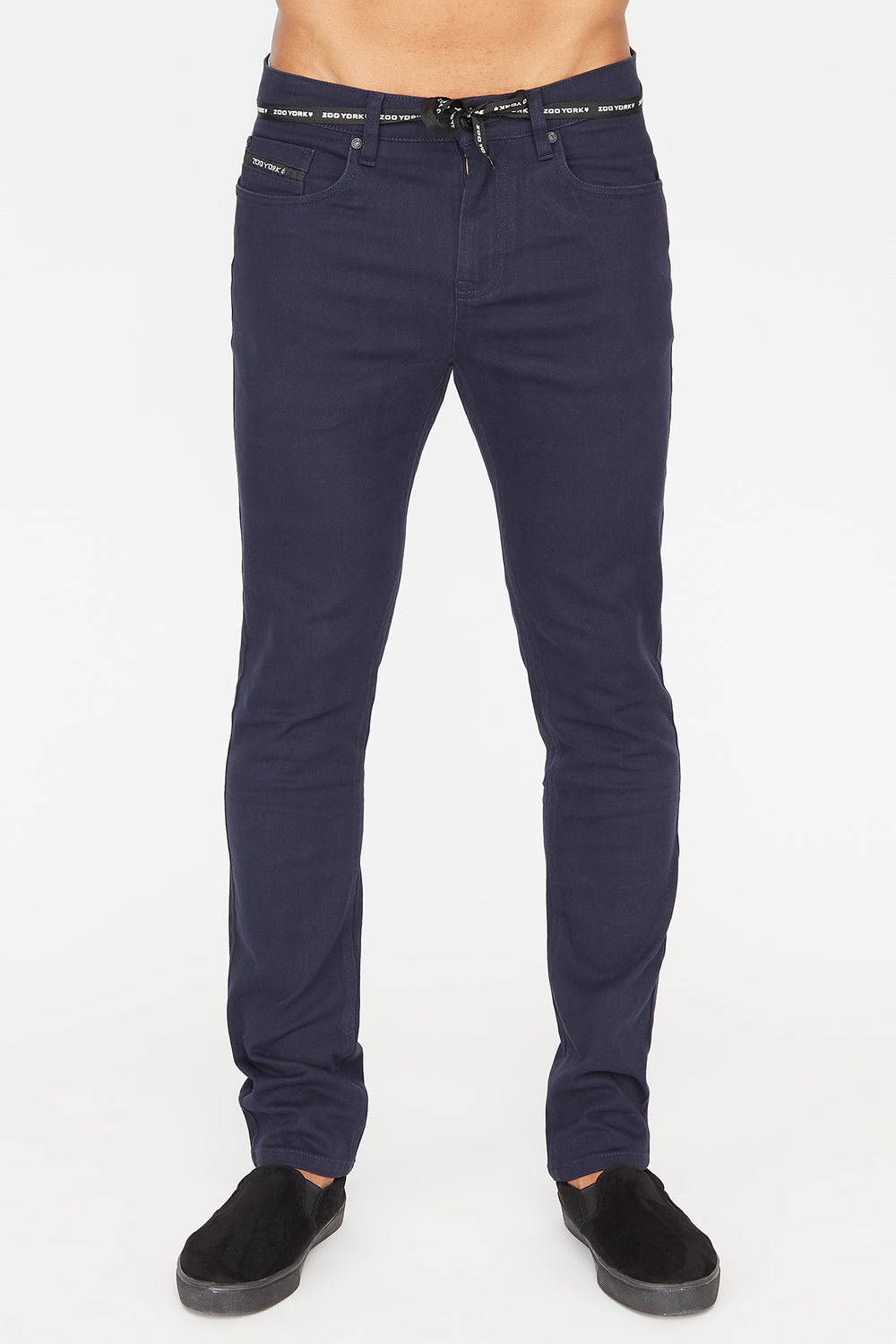 Zoo York Mens Skinny Jeans Navy