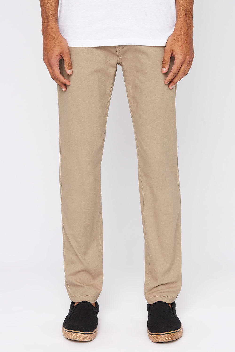 Pantalon Chino West49 Homme Sable