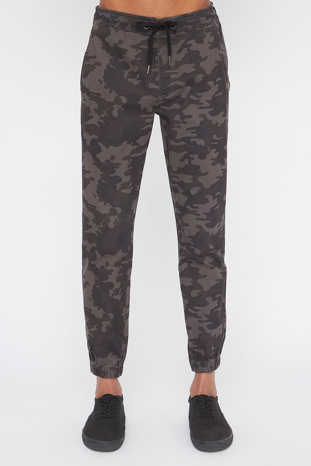 Joggers Camouflage West49 Homme Carreaux