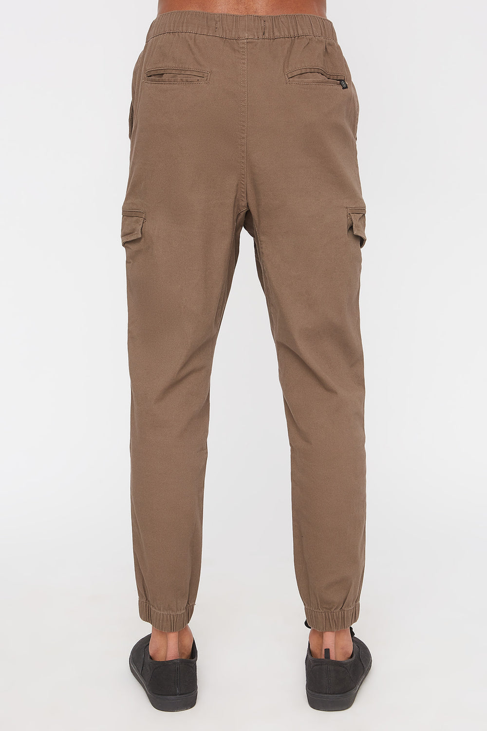 West49 Mens Cargo Jogger Brown
