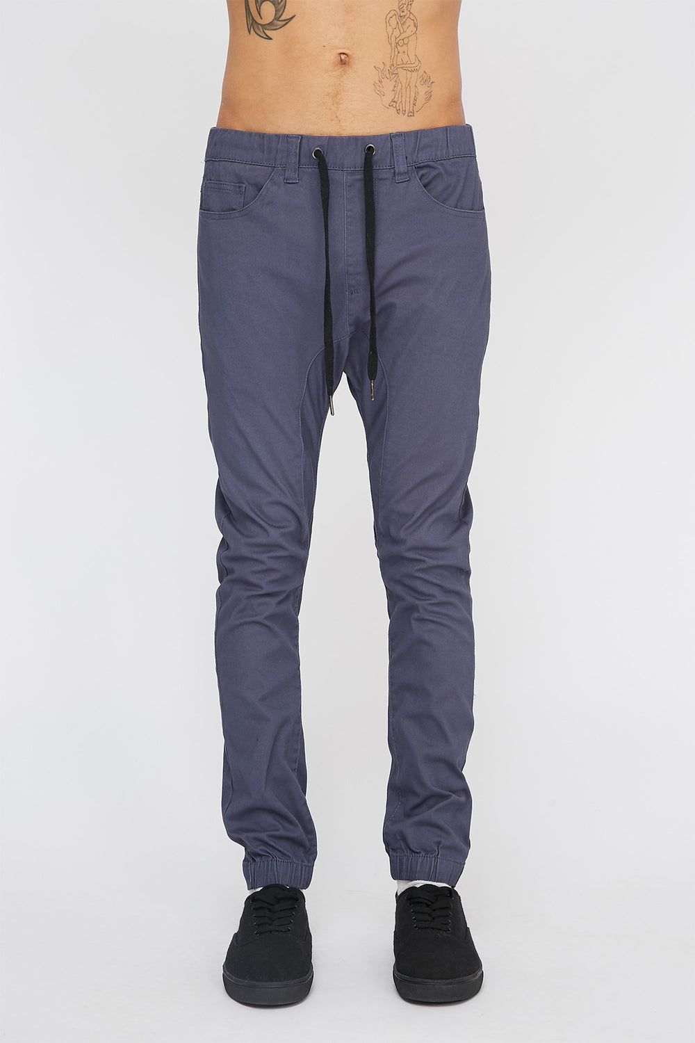 Jogger À 5 Poches Zoo York Homme Argent