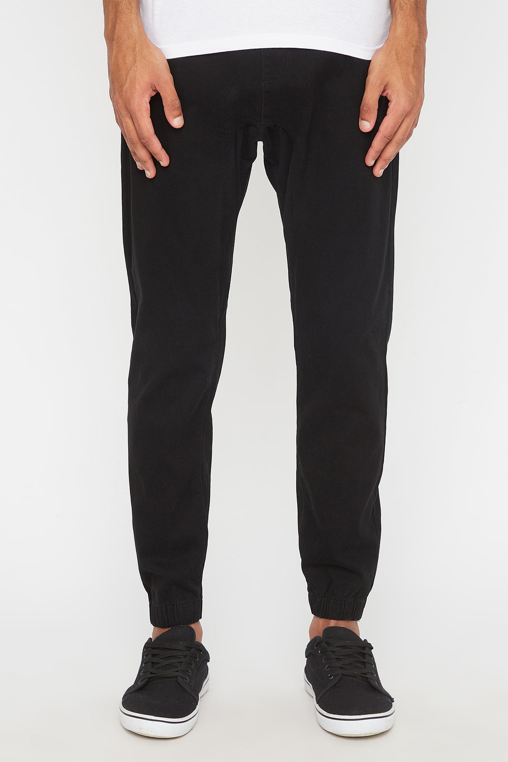 Zoo York Mens 5-Pocket Jogger Black