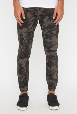 Jogger À 5 Poches Camouflage Zoo York Homme