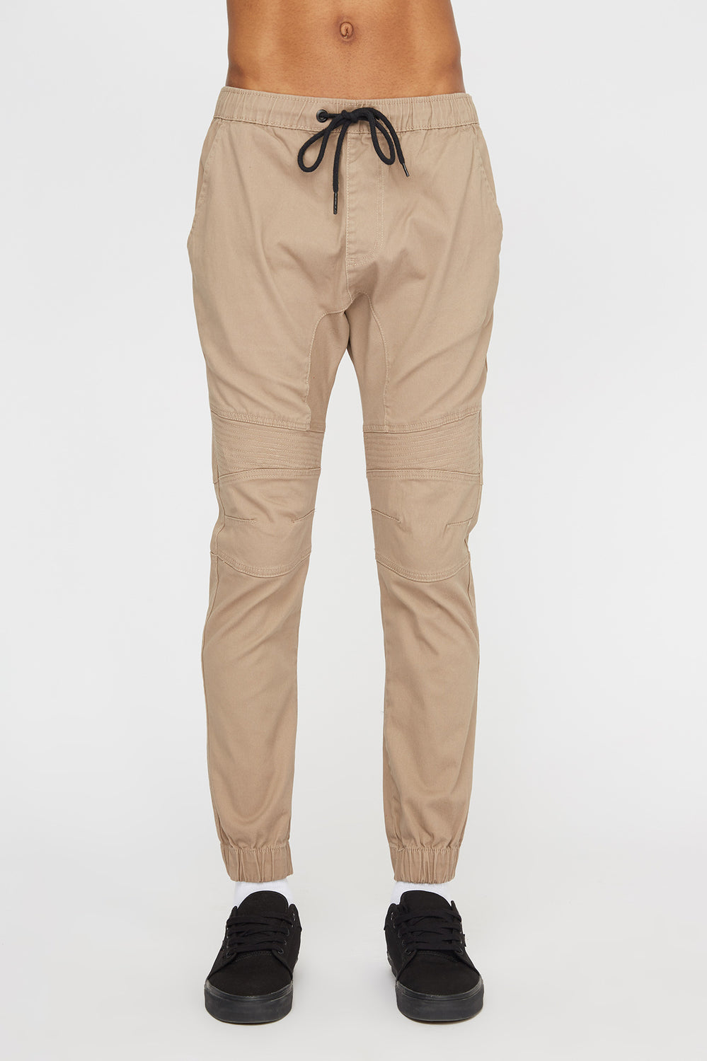 West49 Mens Moto Jogger Sand