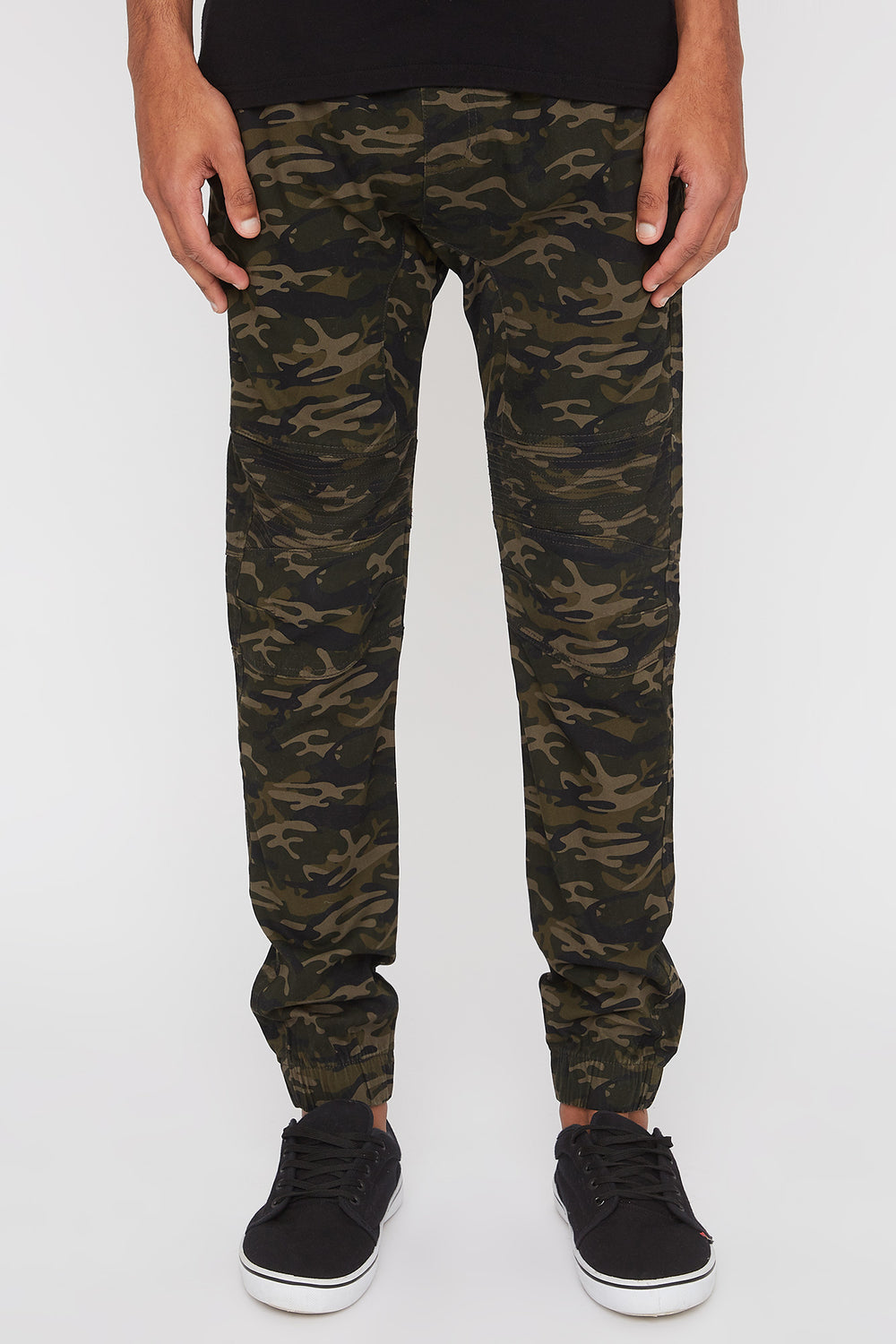 Jogger Moto Camouflage West49 Homme Camoufle