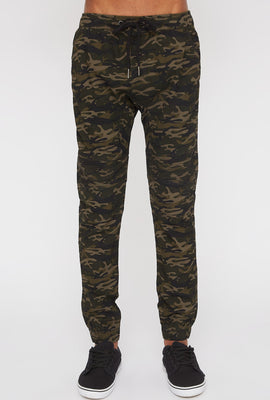 West49 Mens Camo Moto Jogger