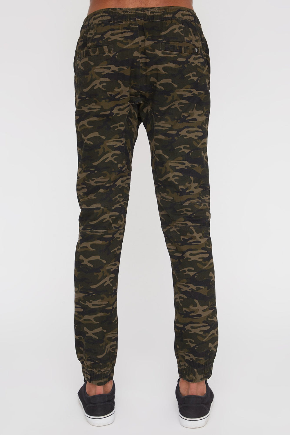 West49 Mens Camo Moto Jogger Camouflage