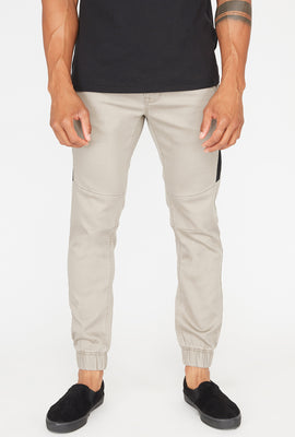 Zoo York Mens Solid Panel Jogger