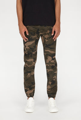 Zoo York Mens Twill 5-Pocket Camo Jogger