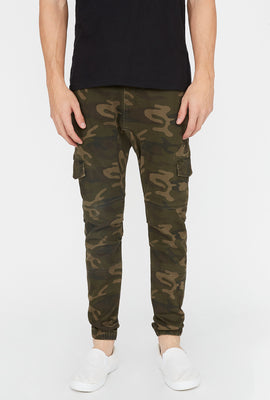 Jogger Camouflage Style Cargo West49 Homme