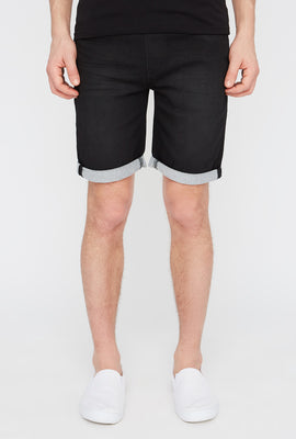 Zoo York Mens Knit Denim Jogger Short