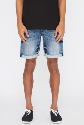 Short Tricot de Denim Zoo York Homme