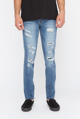 Zoo York Mens Medium Wash Skinny Jeans