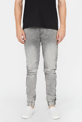 Zoo York Mens Acid Wash Denim Jogger