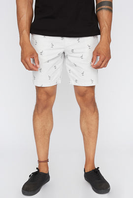 Zoo York Mens Flamingo Ditsy Short