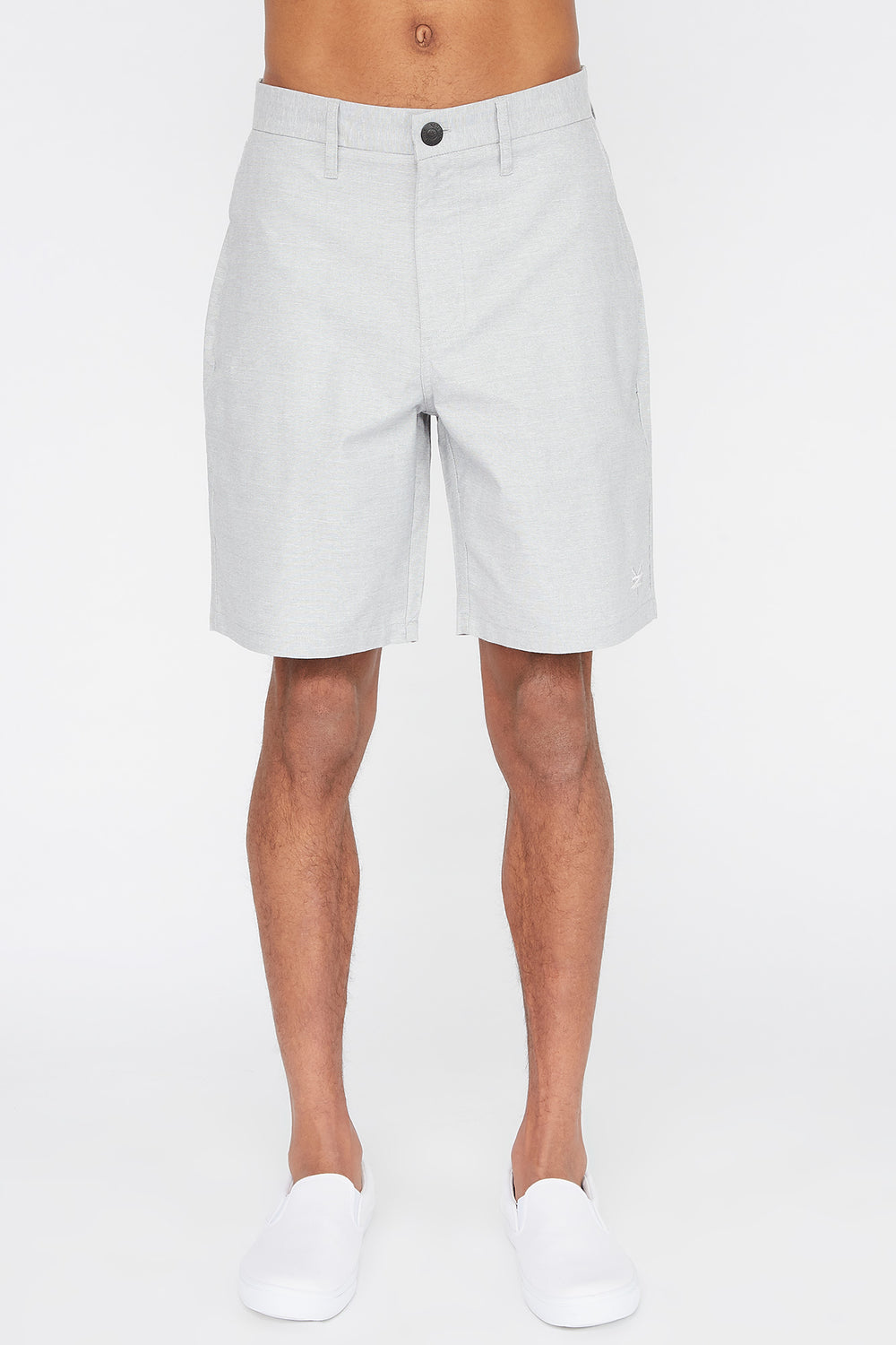 Short de Ville Zoo York Homme Gris pale