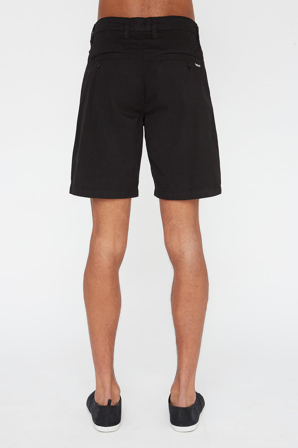 Short Coupe Etroite West49 Homme Noir