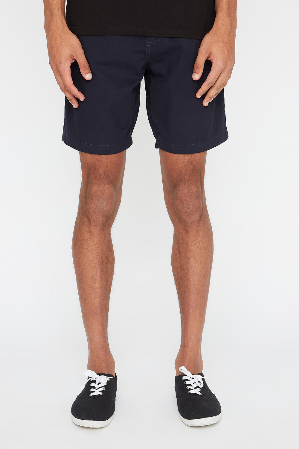 West49 Mens Slim Short Navy