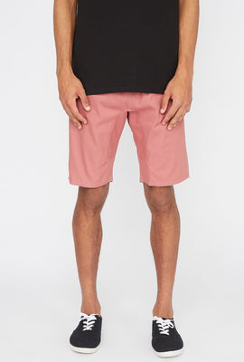 West49 Mens Basic Jogger Short
