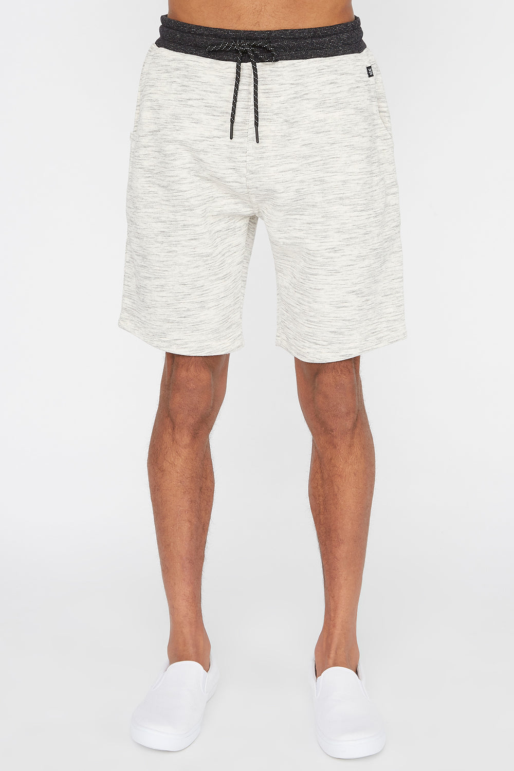 Short En Molleton Space Dye West49 Homme Avoine