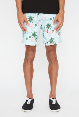 Short Flamants Roses Zoo York Homme