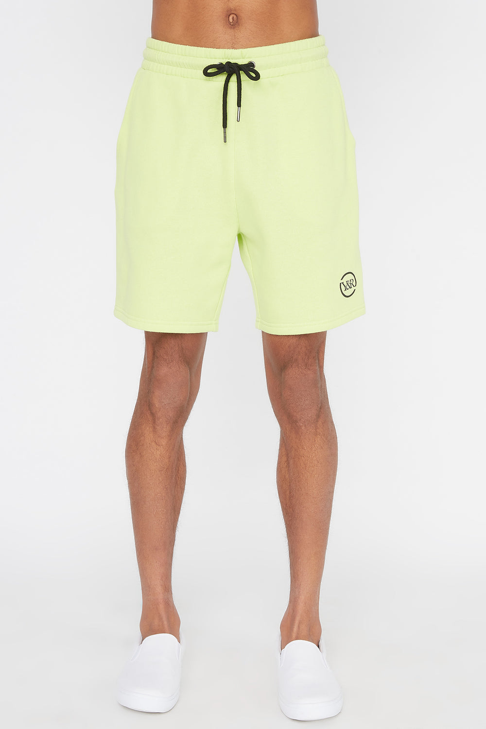 Young & Reckless Mens Neon Short Neon Green