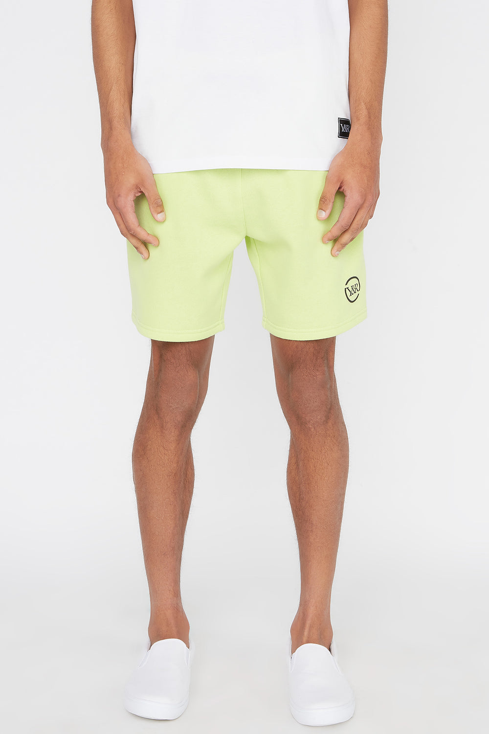 Short Fluo Young & Reckless Homme Vert fluo