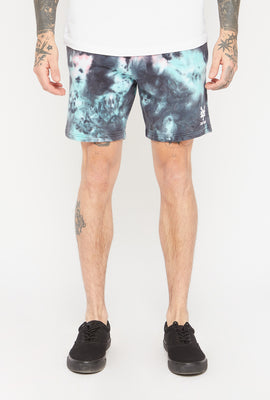 Zoo York Mens Dark Tie-Dye Short