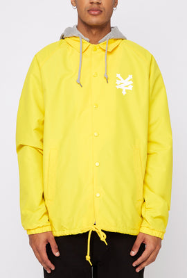 Zoo York Mens Hooded Coach Jacket