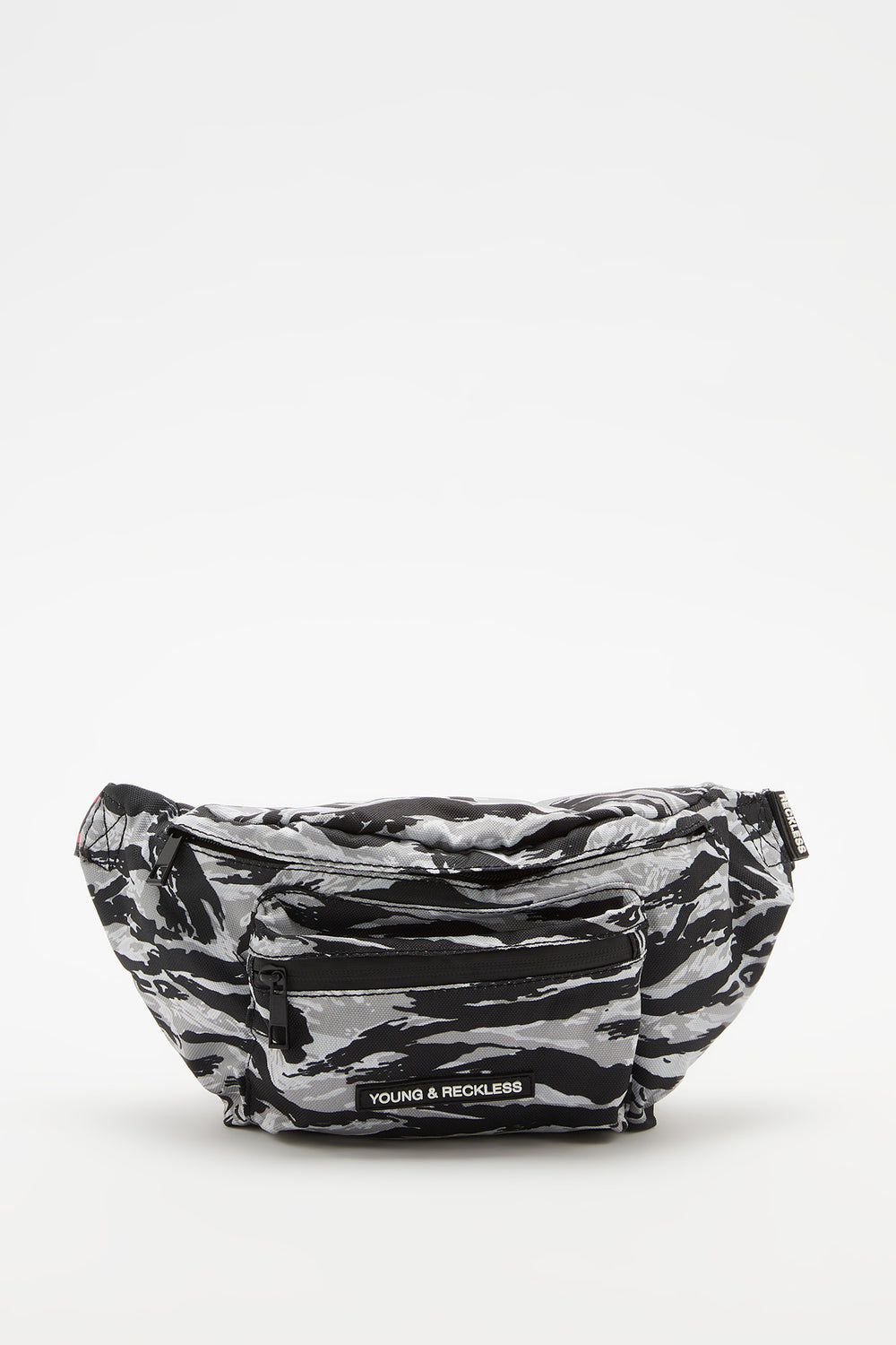 Young & Reckless Camo Fanny Pack Heather Grey