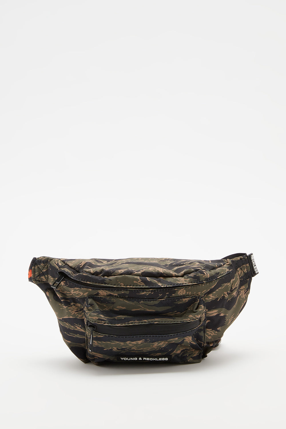 Young & Reckless Camo Fanny Pack Green