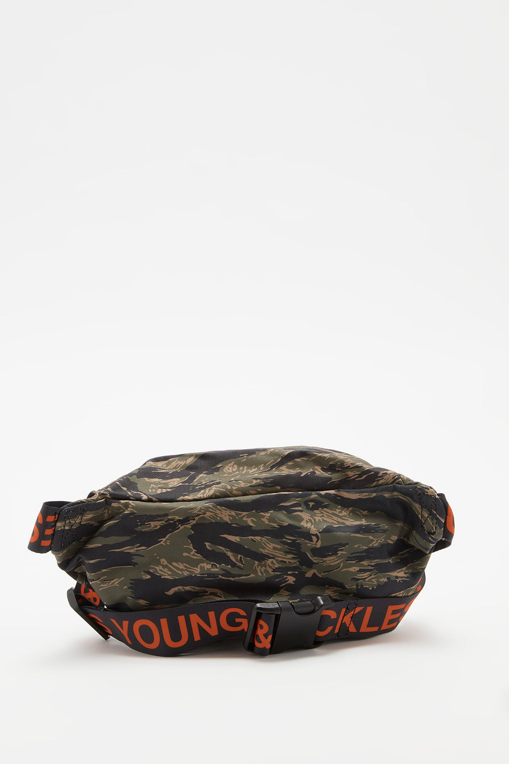 Sac Banane Camouflage Young & Reckless Vert