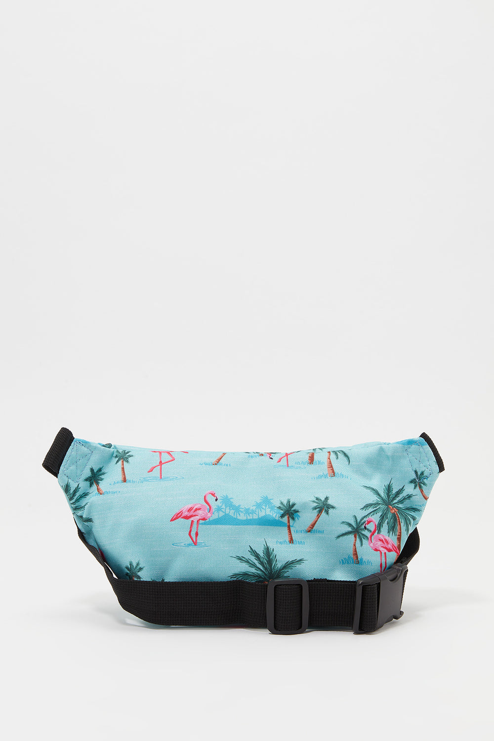 Zoo York Flamingo Print Fanny Pack Blue
