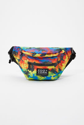 Zoo York Rainbow Camo Fanny Pack