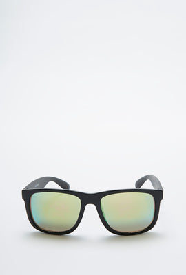 Zoo York Mens Reflective Square Sunglasses