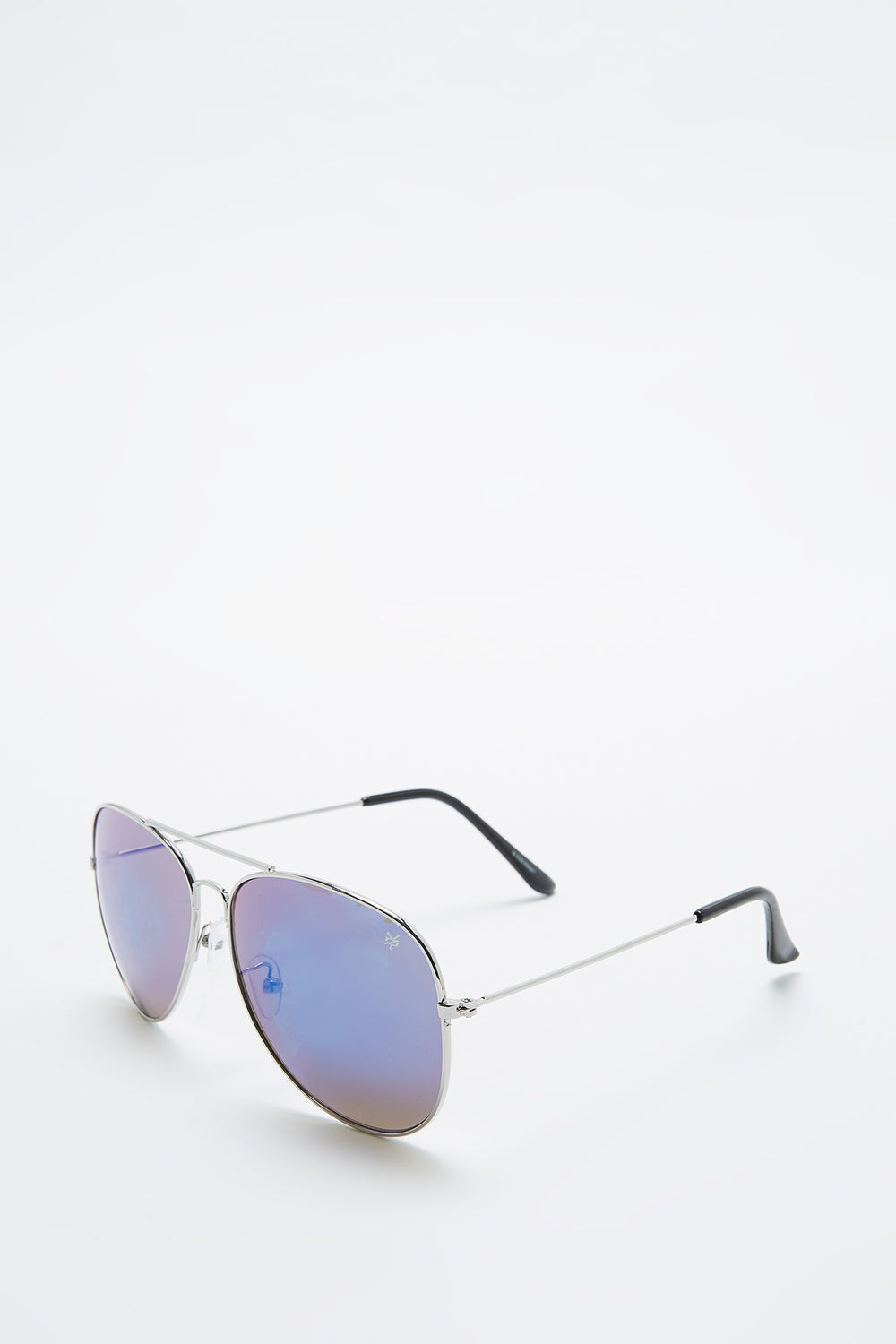Lunettes Style Aviator Zoo York Homme Argent