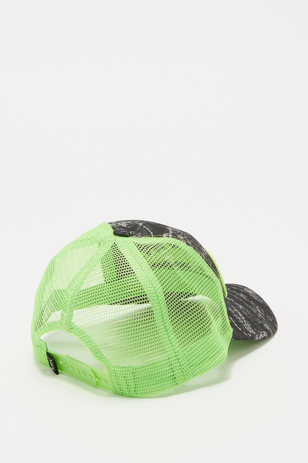 Casquette Trucker Fluo Et Camouflage Young & Reckless Homme Vert