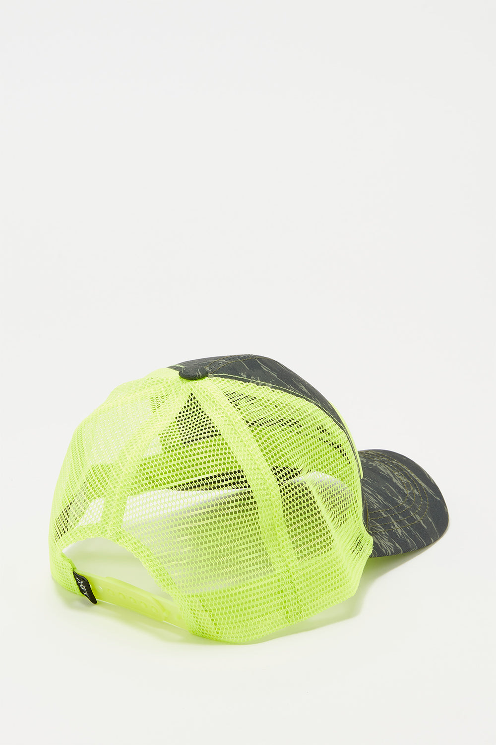 Casquette Trucker Fluo Et Camouflage Young & Reckless Homme Jaune