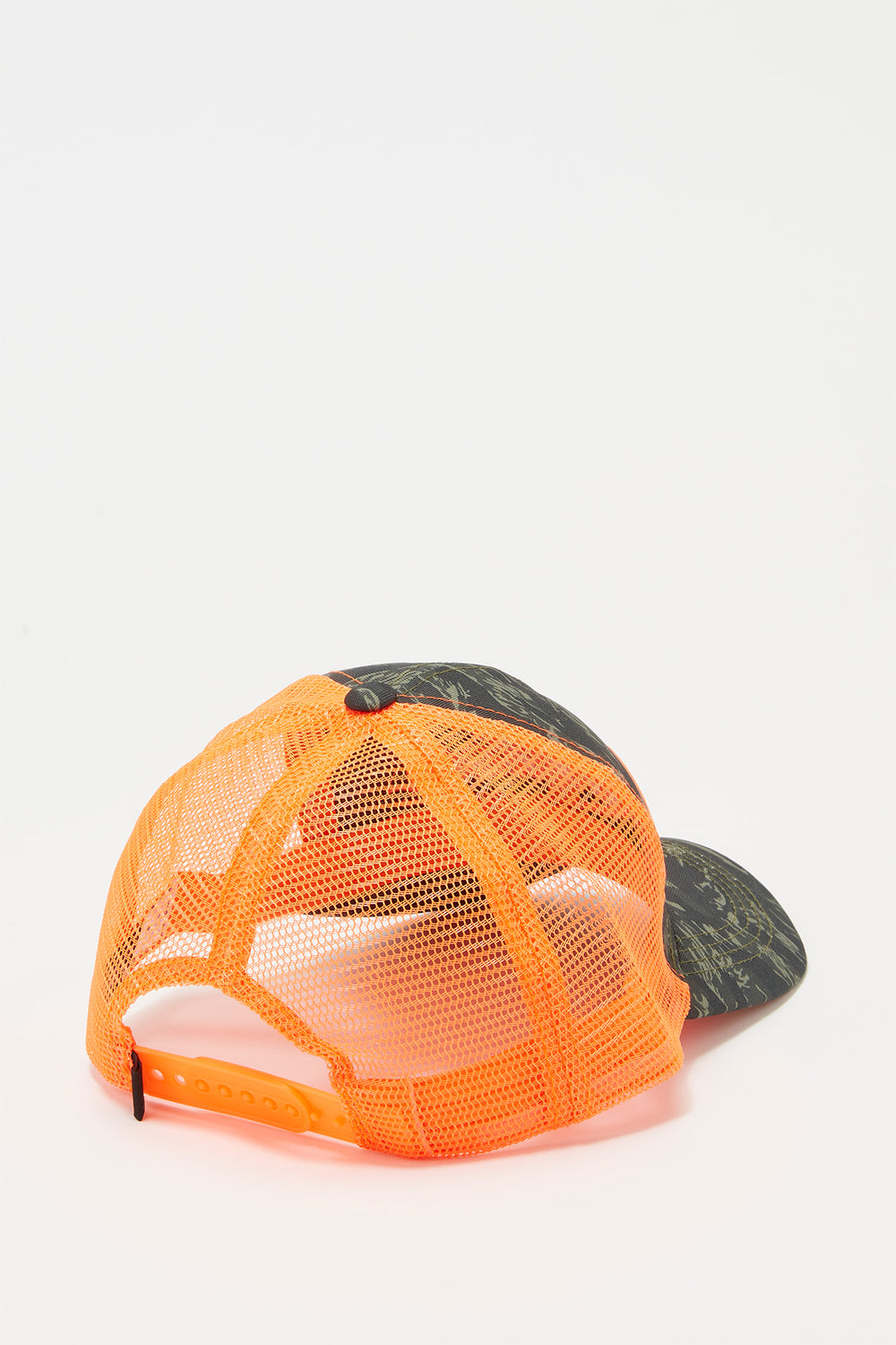 Casquette Trucker Fluo Et Camouflage Young & Reckless Homme Orange
