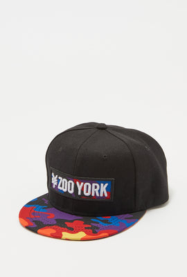 Zoo York Mens Rainbow Camo Snapback Hat