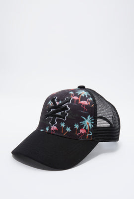 Casquette Homme Flamant Rose Zoo York