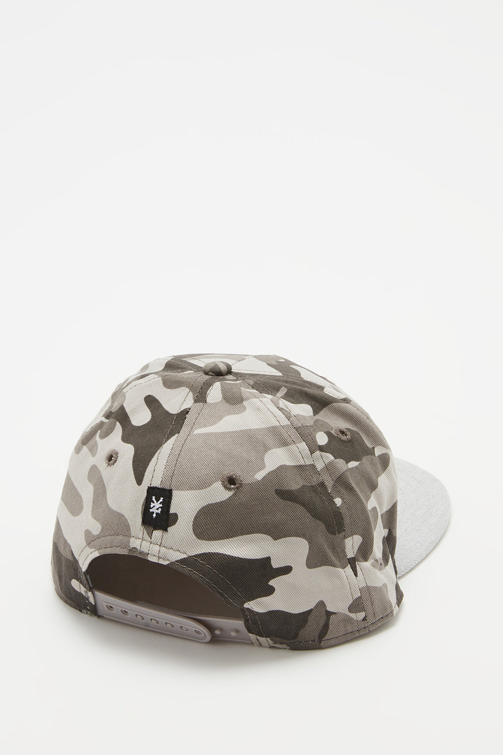 Casquette Camouflage Zoo York Homme Gris