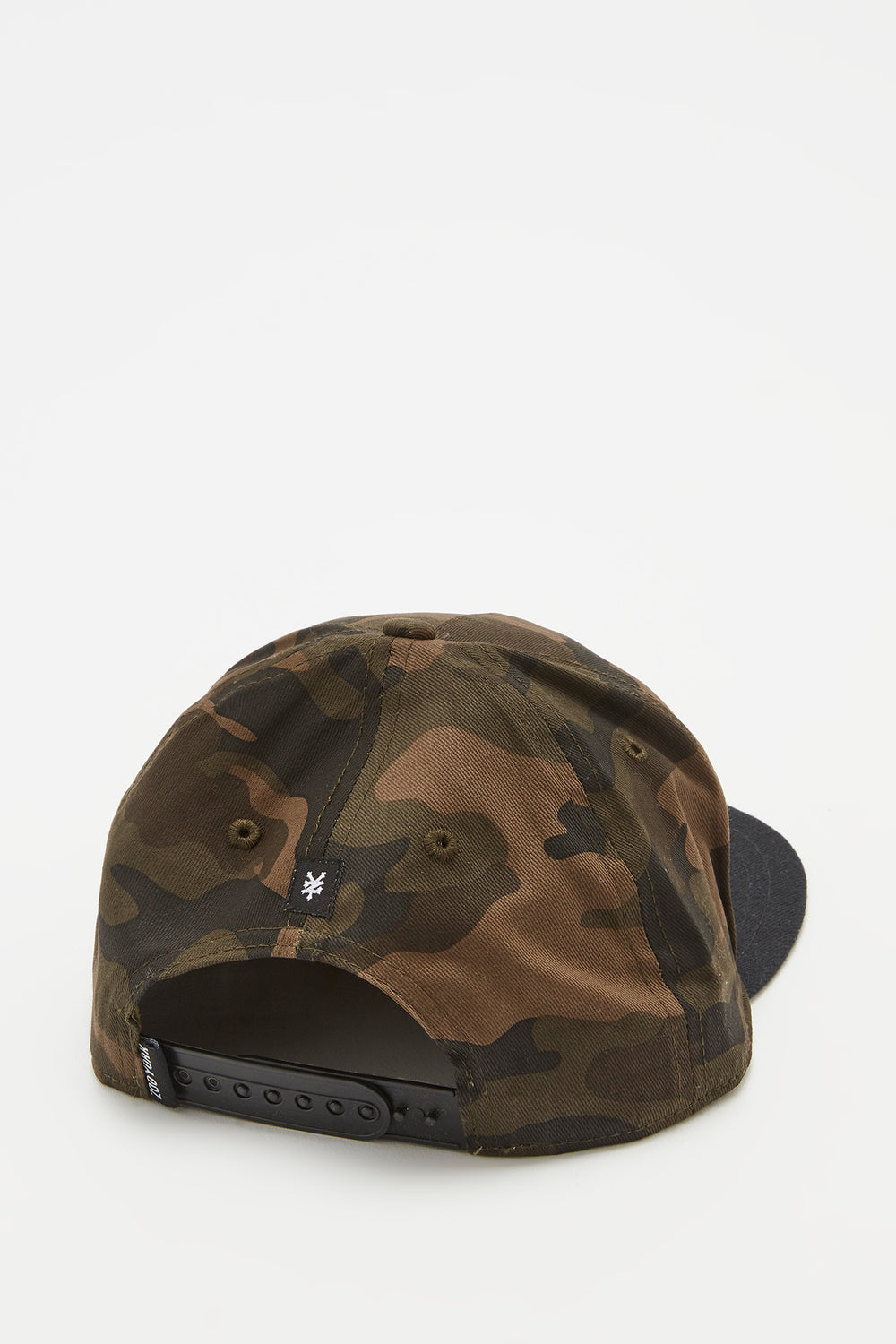 Zoo York Mens Camo Snapback Hat Camouflage