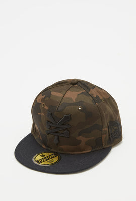 Casquette Camouflage Zoo York Homme