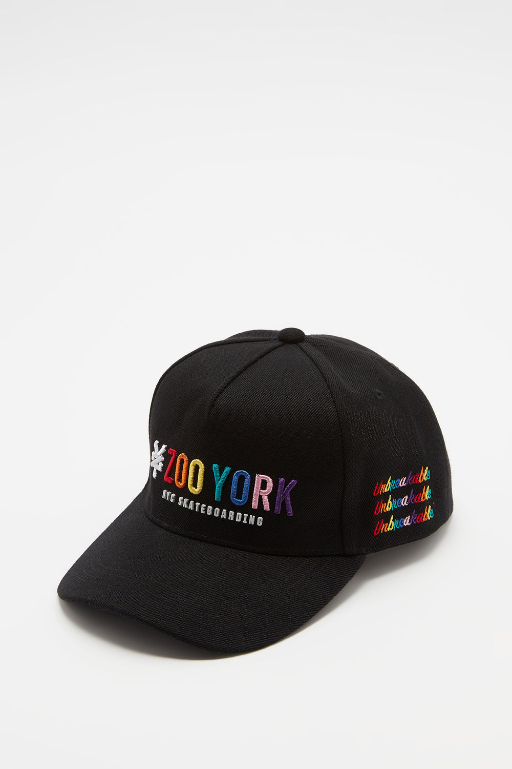 Zoo York Mens Rainbow Logo Hat Black
