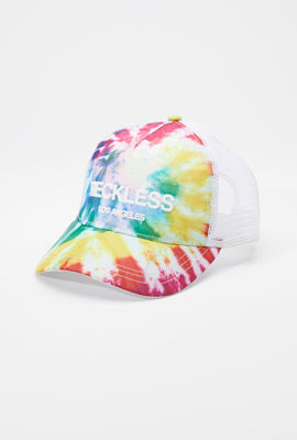 Casquette Tie-Dye Trucker Young & Reckless Homme