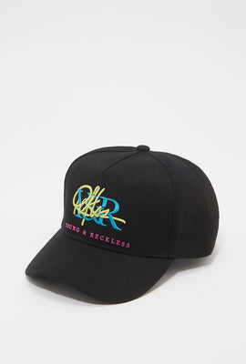 Young & Reckless Mens Retro Logo Hat